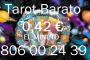 Tarot 806 del Amor/ Barato/ 0,42 € el Min