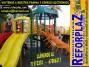 fabricantes de juegos infantiles  - parques infantiles en bolivia