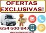 MUDANZAS COMPLETAS,6//5::46oo847 EN FUENCARRAL-SANCHINARRO-MONCLOA