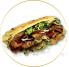 Kebabs dobles, Durum, Kebabs de vegetales y mas