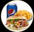 Plato Kebab, Pollos a la Parrilla, Pollo Frito