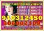 TAROT/MAGIA /VIDENCIA 910 312 450 Las 24 horas Visa  4€ 15 min/ 7€ 25min/ 9€ 30min / 12€ 45min. / 15€ 55min . 17€ 70. 20€ 90min… 806 002 109. Coste mi